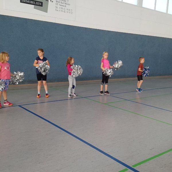 Training Cheerleading 1